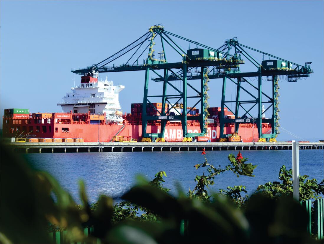Sustentabilidade - Porto Itapoá - SC